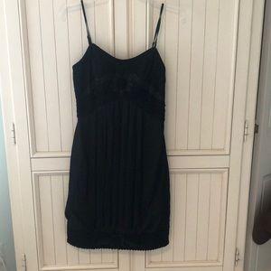 Sue Wong black detailed dress